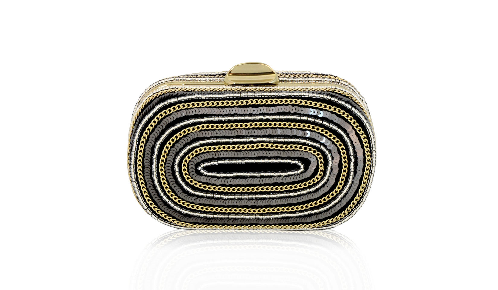 SEL-138-MT-straight-glass-beaded-sequin-clutch-bag-sparkly-minaudiere-graphic-pattern-evening-bag-gold-chain-special-occasion-handbag